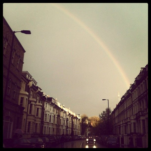 Rainbow over London55 F Burberryweath, London Life, London Tonight, Rainbows, Burberry Instagram, Beauty, London Call, Burberry Beautiful, Burberry Photos