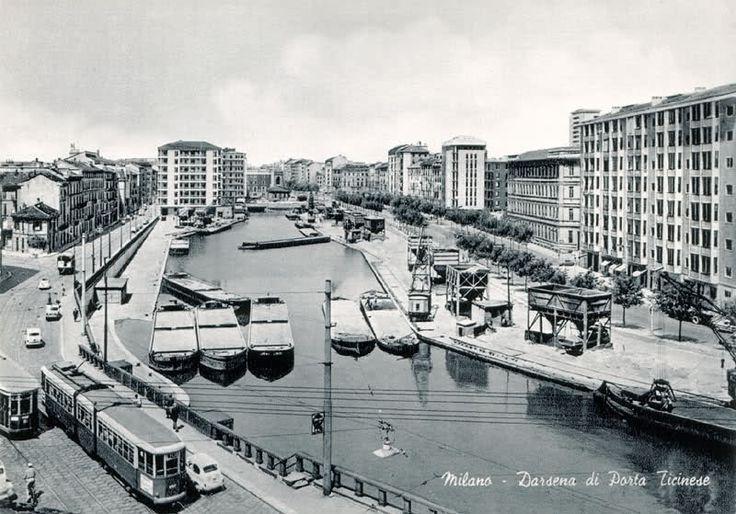 MILANO | Darsena anni 60