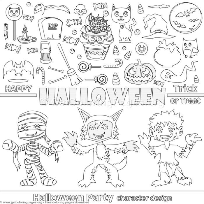 9 Happy Halloween Coloring Pages - GetColoringPages.org # ...