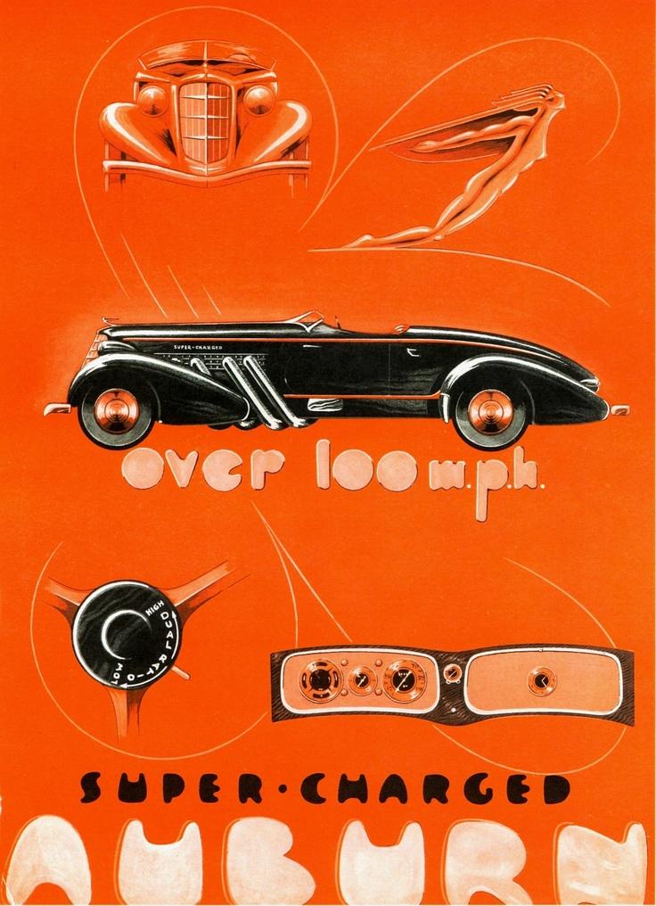 38 best 1935 Auburn Model 851 Speedster images on Pinterest ...