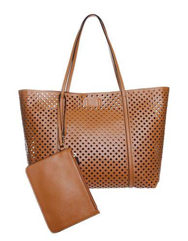 Handbags | Totes  | Brody Perforated Tote | Hudson's Bay