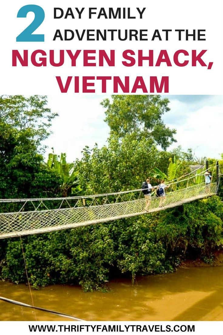 If you're looking for a fun, off the beaten path adventure in Vietnam, you have to check out the Nguyen Shack. This unique accommodation in Vietnam was such a cool experience. If you're looking for an interesting place to stay in Vietnam with your family, come check it out. This affordable accommodation in Vietnam will be one of the coolest places you've ever stayed. Make sure you save this to your travel board so you don't lose it!