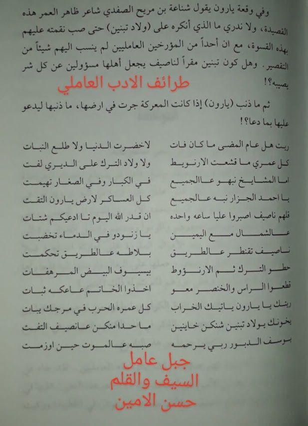 مدونة جبل عاملة مقتل ناصيف النصار في شعر شناعة Blog Blog Posts Bullet Journal
