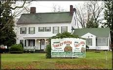 Larison's Turkey Farm, Chester , I remember going here with my  grandmother and aunts for turkey dinners.