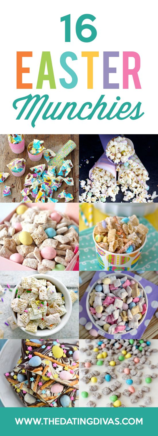 Easter Treats, Snacks, and Munchies! The kids would love this! From The Dating Divas