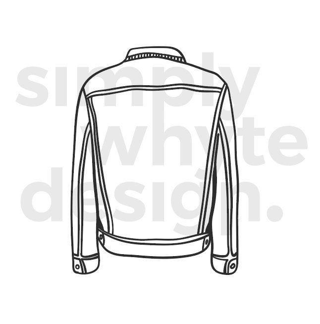 Jacket Clip Art Digital Vector Illustration Eps Svg Png Etsy Clip Art Digital Illustration