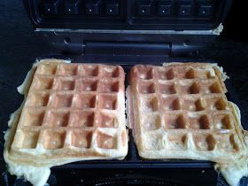 Aussie in a Swiss kitchen: Waffles - a Paleo, wheat and grain free Thermomix recipe, inspired by Maria Emmerich.