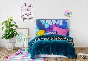 Mexsii kids headboard - Violet Hill | Mexsii Bedhead Collection from Australia | Mexsii hoofdbord maakt van je slaapkamer een waar kunstwerk | ARCHANA.NL