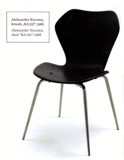 Aleksander Kuczma, Krzesło KA 237, 1966, dla Centralnego Ośrodka Rozwoju Meblarstwa
