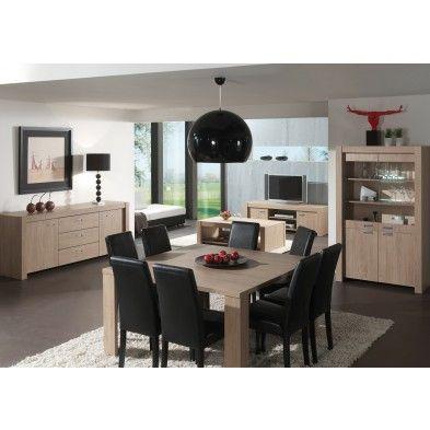 Salle à manger moderne à table carré design