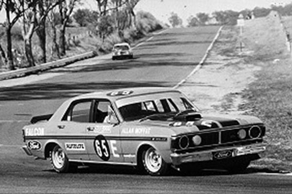 Allan Moffat 1971 Bathurst winner. XY GTHO phase 3