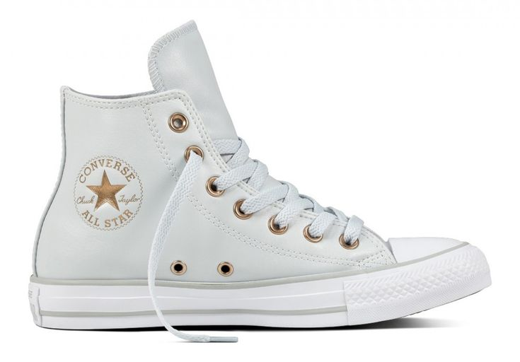 Converse Chuck Taylor All Star Women's Hi Top Pure Platinum/White/Mouse