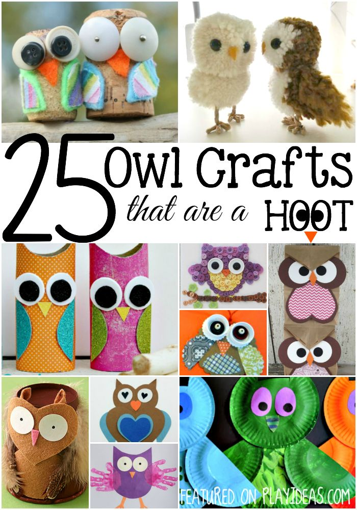 owl crafts for six year olds