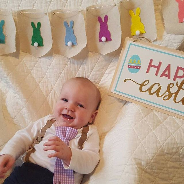 cute baby boy easter outfit