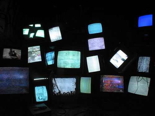 tv room by meow wolf, via Flickr