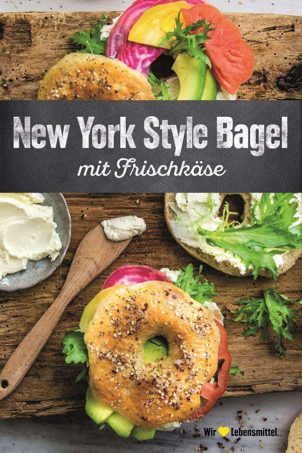 New York Style Bagel Rezept Edeka Rezept Rezepte Bagels Rezept Rezepte Gesund