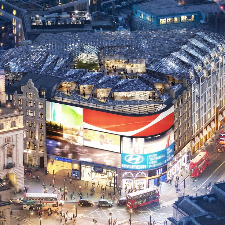 Piccadilly Apartments: Piccadilly Circus Redevelopment By Fletcher Priest