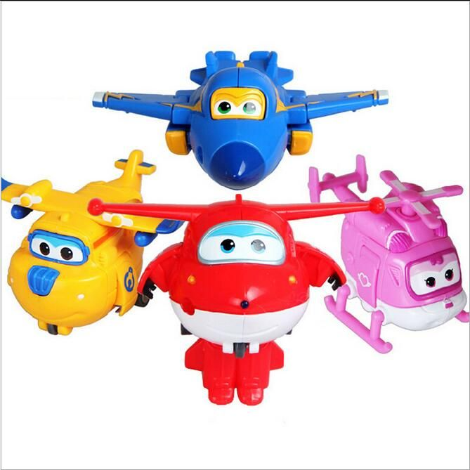 So Cool !8 styles Super Wings toys Mini Planes Model Transformation Airplane Robot Action Figures Boys Birthday Gift Brinquedos