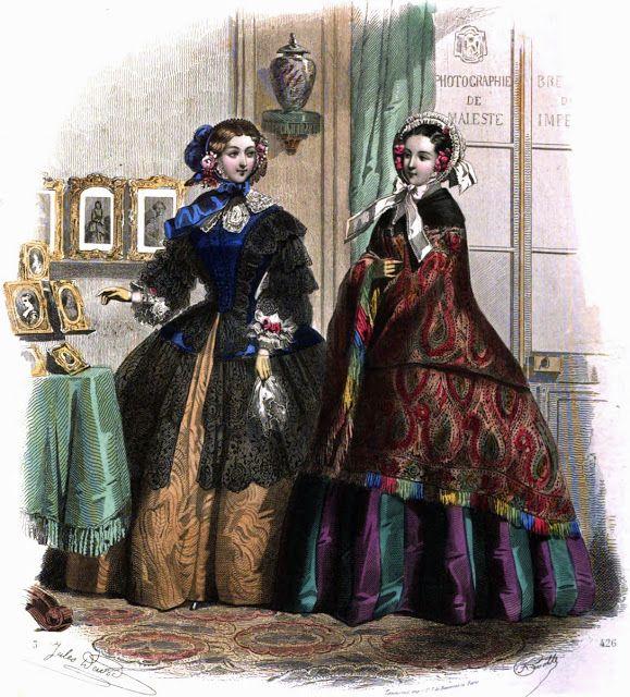 Le Moniteur de la mode - 1855  from bornin1808.blogspot.co.uk