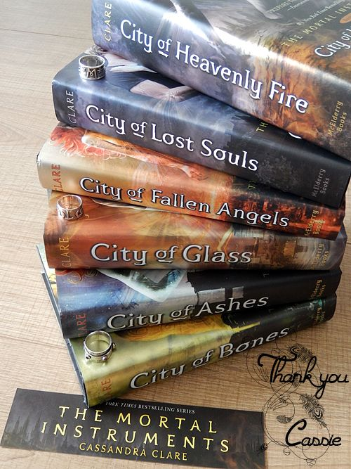 Thank you Cassie, for all the Herondales, Lightwoods, Morgensterns and Frays. And also for the Magnus Banes, Brother Zachariahs and Simon Lewises of your stories.