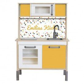 Cute IKEA Kinderk che pimpen Designfolie selbst gestalten