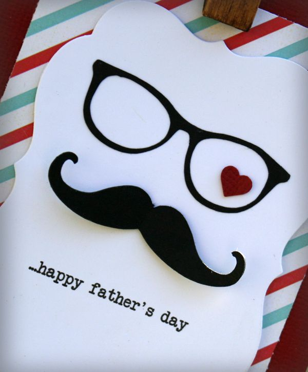 Fathers day card details