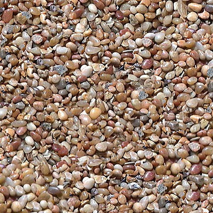 """Amazon.com : Safe & Non-Toxic (Various Size, 0.25"""" to 0.37"""" Inch) 2 Pound Bag of """"Acrylic Coated"""" Gravel & Pebbles Decor for Freshwater & Saltwater Aquarium w/ Light Mediterranean Style [Brown, Tan & Gray] : Pet Supplies"""
