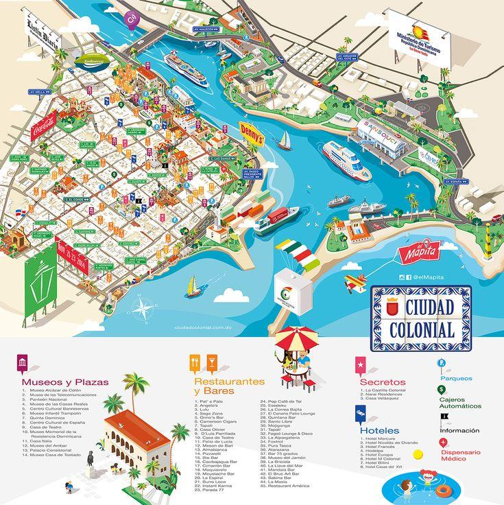 Isometric Map 2014 // El Mapita Colonial Zone