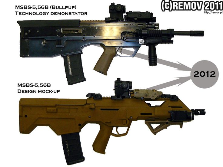 MSBS Radon rifle HD Wallpapers