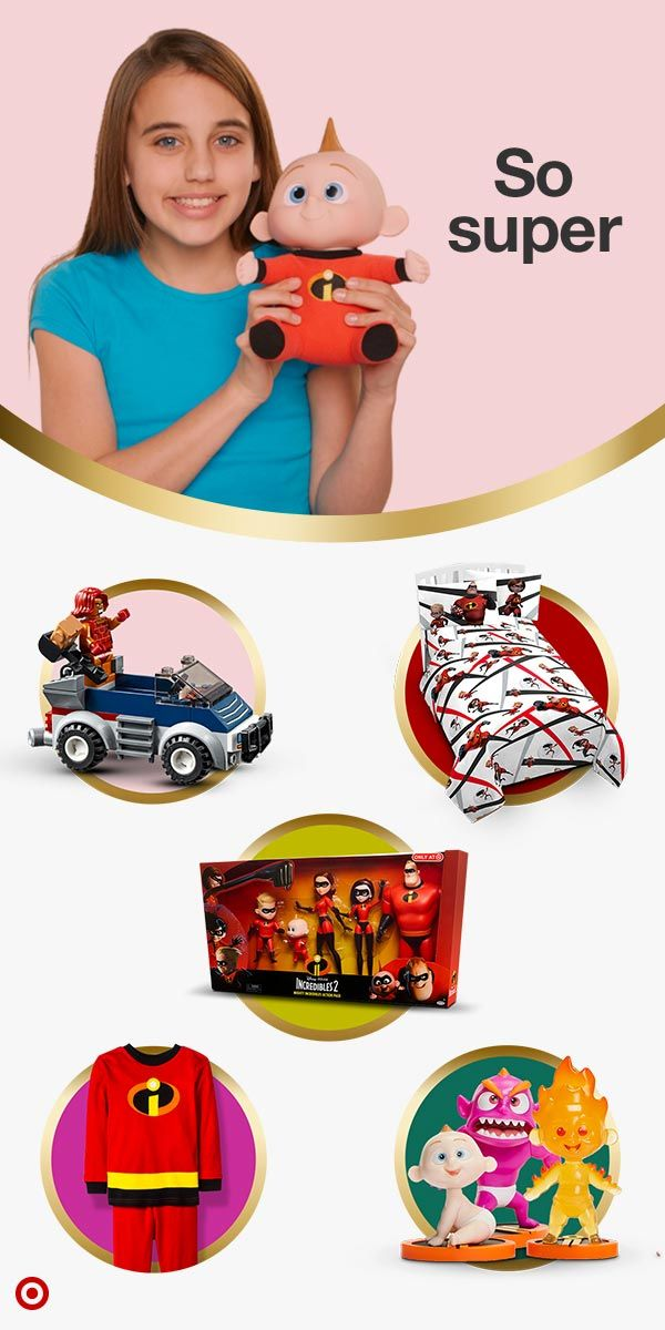 Wrap Up Some Of These Disney Pixar Incredibles 2 Gifts For All The