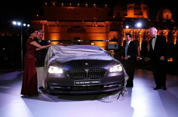 New 2013 BMW-7-Series Luxury Saloon Facelift Unveiled In India at Jodhpur