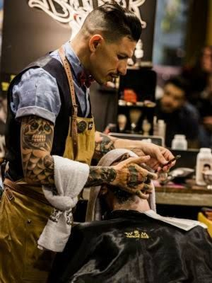 Resultado de imagem para barbearias modernas