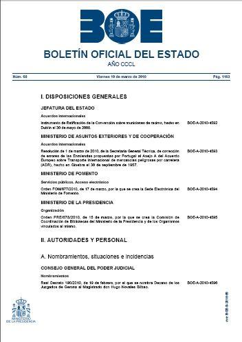 5. Publicación: Actuación material que consiste en la inserción de un acto administrativo en un diario oficial como por ejemplo el BOE, BOJA, BOPA o en un tablón de anuncios con el fin de comunicarlo. José Manuel Fernández González.
