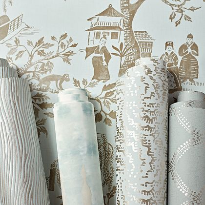 Anna French Collection  #boyac #design #interior #new #annafrench #fabric #modern