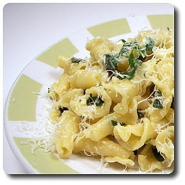 So Simple! Pasta with Spring Herbs & Olive Oil.