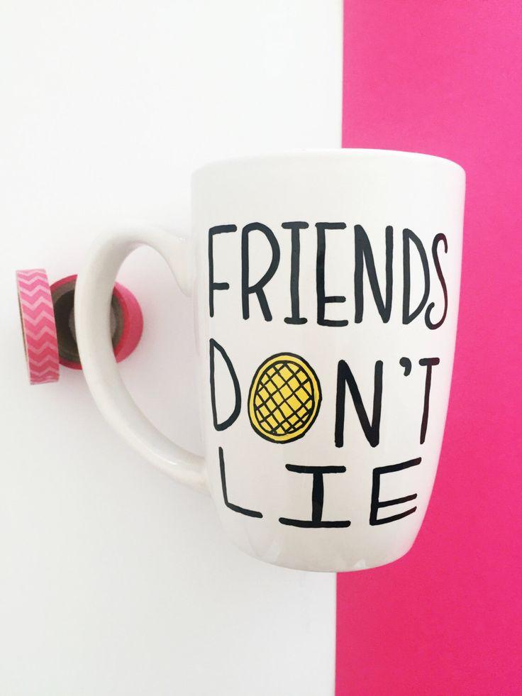 Stranger Things Mug, Friends Don't Lie Coffee Mug, Unique Coffee Mug, Gifts For…