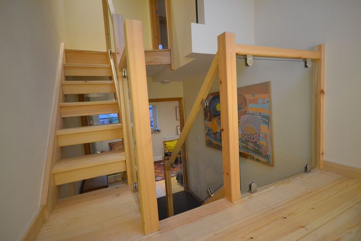 Replacing a spiral staircase with a conventional set of stairs. Check out our case study here.