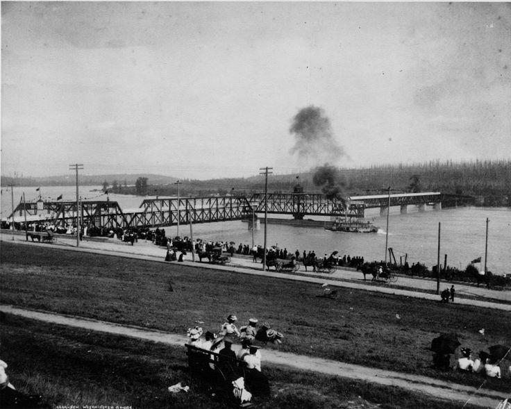 First Fraser River Bridge 1904