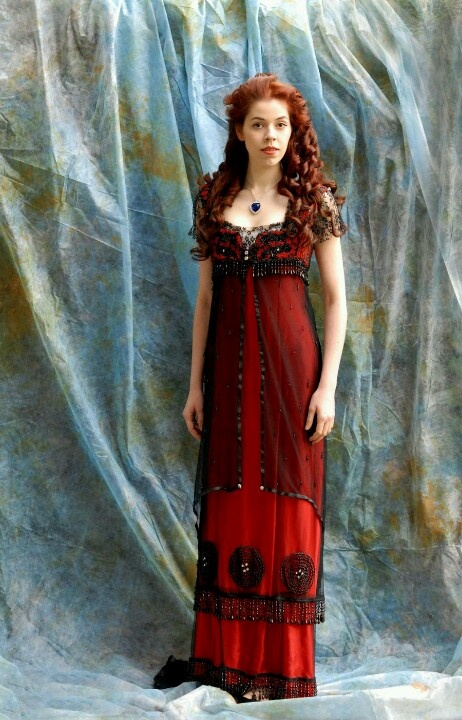 """""""Rose"""" costume from """"Titanic"""" as worn by a model"""