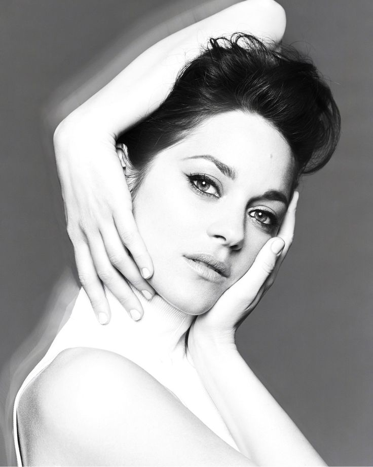 Marion Cotillard photographed by Jan Welters for Madame Figaro, 2014 (originally shot in colour, but black-and-white is better).
