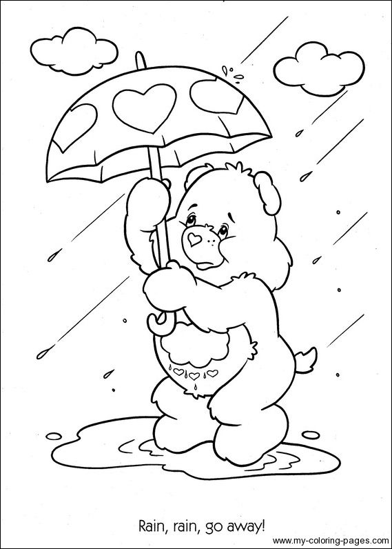 48 best care bears coloring pages images on Pinterest | Care bears ...