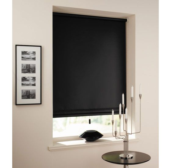 I think simple black blinds against my white trim might be just the thing. Too much???    Image detail for -plastolux modern window shades blinds