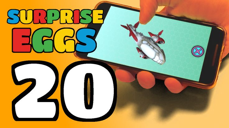 We're opening 20 Surprise Eggs!