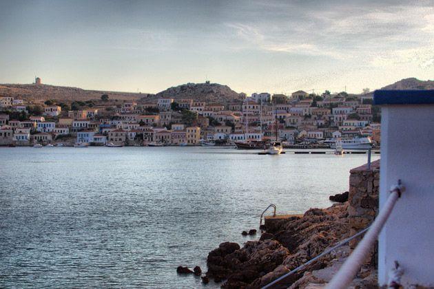 Halki island, Greece.