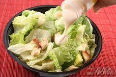 Receita de Salada de alface diferente