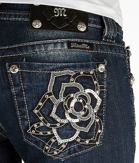 'Miss Me Boot Stretch Jean' #buckle #fashion www.buckle.com