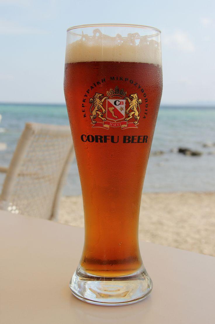 Corfu Beer - još jedna vrsta piva Corfu beer pivare (ova pivara ima 8 vrsta piva)