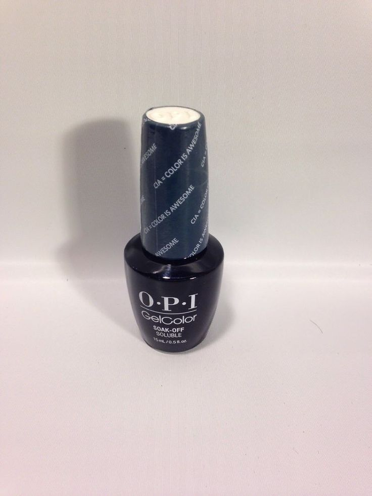 OPI GelColor UV/LED Soak off Gel Nail Polish - CIA = Color Is Awesome W53 #OpiGelColor