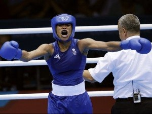 http://www.MilitaryGradeNutritionals.com/blog  Great Britain's Natasha Jonas reacts after her fight against the United States' Quanitta Underwood during a women's lightweight boxing match at the 2012 Summer Olympics, Sunday, Aug. 5, 2012, in London.