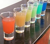 How to Make Rainbow Shots...impress your friends. Read it, Share it, Re-Pin it!